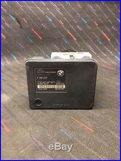03-06 NON ZCP BMW E46 M3 ABS Anti Lock Brake Pump 2282249 2282250 Module