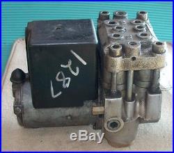 1982 Bmw 745 745i Turbo Euro Anti Lock ABS Brake Pump 2410324 OEM