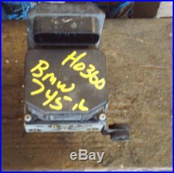 2002-2005 BMW 745i 745Li 760i 760Li ABS ANTI LOCK BRAKE PUMP ASSEMBLY OEM 02-05