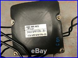2011 Bmw 7 Series F01 F02 Dsc Acc Abs Pump 6791172-01 6791174-01