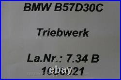 2473249 B57D30C Motor Triebwerk Hochdruck Pumpe BMW X5 G05 X7 G07 M 50dX 150km