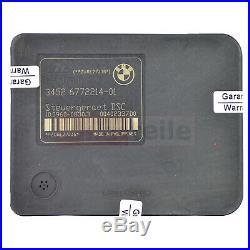 ABS Hydraulikblock Steuergerät BMW E90 6772213 6772214 10020602504