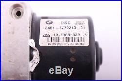 BMW 1 3 REIHE E87 E90 E91 ABS DSC Steuergerät Hydraulikblock 6772213 6772214