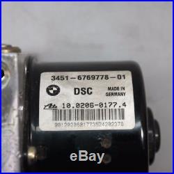 BMW 1 3er E87 E90 E91 Steuergerät Hydroaggregat DSC Pumpenmodul 6769778 6769779
