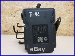 BMW 1er E88 3er E90 E91 LCI Hydraulikblock Steuergerät ABS DSC 6789303 /Rechnung