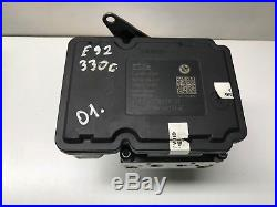 BMW 3 SERIES E92 330d 2007 / 05-11 170KW ABS PUMP 6778238 6778239 / E90 E91 E93