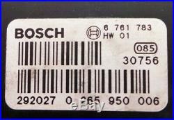 BMW 7 Series E65 E66 ABS PUMP 0265225007 0265950006 6761783 34516761781