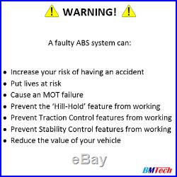 BMW ABS Pump REFURBISHMENT REPAIR SERVICE MK60.1 ATE 10.0212 10.0961 5DF0 5DF1