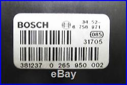 BMW DSC Traction Control ABS Pump w Module 1999-2003 E38 E39 E52 OEM USED