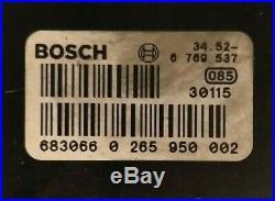 BMW E38 E39 ABS Pump Bosch Part No. 0265950002 & 6769537 BMW 5 & 7 Series