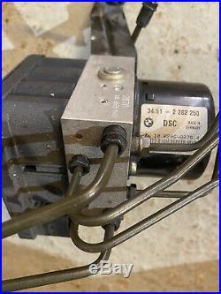 BMW E46 M3 ABS Pump and DSC Controller Ecu 34512282250 Mk60 818.3