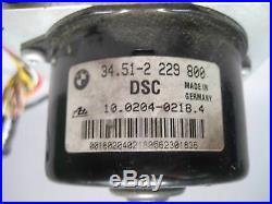 BMW E46 M3 Z3 M3.2 ABS DSC Pump w Module 2001-2002 OEM USED S54