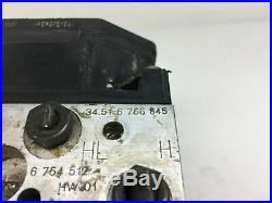 BMW E65 E66 7-Series ABS Pump and Control Module 0265225007 6766845 0265950006