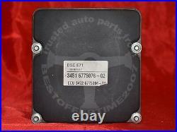 BMW E71 X6 STABILITY CONTROL UNIT DSC ABS BRAKE PUMP ANTI LOCK Hydraulikaggregat