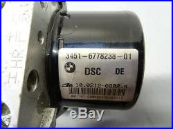 BMW E90 E91 E92 E93 325d 330d 325i 330i DSC ABS Pump & ECU 6778238 6778239 #070
