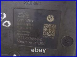 BMW E90 E91 Hydraulikblock pumpe Steuergerät ABS 6776068 6776069