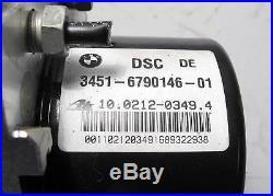 BMW E90 E92 3-Series 1-Series ABS DSC Stability Control Brake Pump 2009-2013 OEM