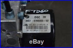 BMW E92 335d ATE DSC ABS PUMP HYDRAULIC UNIT & CONTROLLER RHD # 6789303 6789304