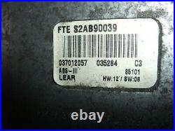 BMW R1150RT ABS 2003, 2001-05 ABS Pump And Module VGC #180