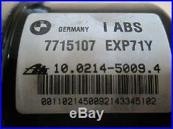 BMW R1200RT 2013 23,616 miles ABS pump unit control module (2892)