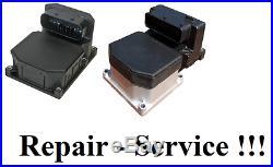 BOSCH 5.3 5.7 ABS ECU PUMP CONTROLLER MODULE REPAIR SERVICE AUDI BMW Merc ETC