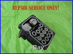 Bmw 5-series Bosch 5.7 Abs Atc Pump Control Module Repair Rebuild Service