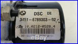 GENUINE BMW 3 Series E90 ABS PUMP ECU Control Module 3451 6789303 3452 6789304