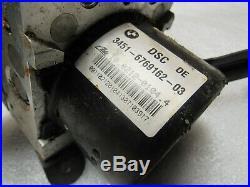 OEM 2006-2008 BMW E85 E86 Z4 M SPORT DSC ABS Hydraulic Unit 47K A-13332 B129